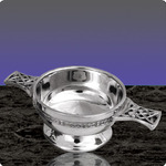 English Pewter PQ503 Quaich 4.5