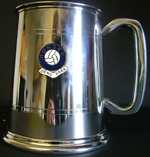DUNDEE FG386FC Stainless Steel Tankard  Made In UK