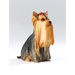 Country Artist CA06253 Dogs YORKIE SITTING