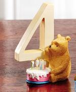 Border Fine Arts A7167 Winnie The Pooh with Birthday Cake