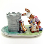 Royal Doulton BunnyKins DBD3 Master of the Manor Teacup & Saucer