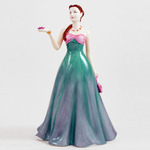 Royal Doulton HN4823 Jessica In Teal And Pink Dress With Pink Purse - Michael Doulton Event Figure of 2006