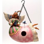 Disney Traditions 4010000 ANGEL BIRDHOUSE
