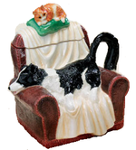 Border Fine Arts A7119 Collie Teapot
