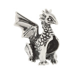 Truth Jewellery 446279 Sterling Silver Charm Dragon Bead