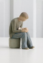 Willow Tree 26129 New Dad Figurine