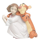 Nao 02001595 Girl having HUGS WITH TIGGER