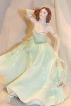 Coalport Fashion Figurines Young Love