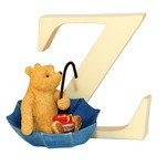 Border Fine Arts A6641 Winnie the Pooh Letter Z