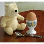 Winnie The Pooh A9692 Child?s Egg Cup, Spoon & Soft Toy Gift Set