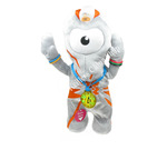 Official Team Great Britain London Olympics 2012  Winning Wenlock Feature Plush Animated Mascot Soft Toy
