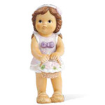 Goebel 11737020 Nina Flower Girl with Pink Roses 11-737-02-0