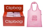 Leonardo LP19828 Keep Calm and Carry On Shopping  Foldable Clip Bag - Pink 68cm
