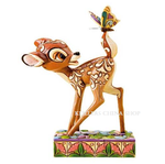 Disney Traditions 4010026 Wonder Of Spring Bambi With Butterfly On Tail NEW
