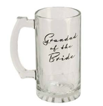 Widdop WG327 Amore Glass Tankard - Grandad of the Bride 400ml
