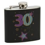 widdop TP13630 Talking pictures more than word 50z Hip flask Black 30th