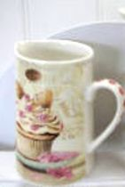 Leonardo LP98658 Butterfly Cupcake Jug Medium Fine China NEW