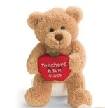 GUND 319509 Bears With Message Apples - Teacher's Have Class