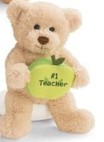 GUND 319509 Bears With Message Apples - #1. Teacher