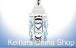 Leonardo LP19149 Silver Plated  CRYSTAL BOTTLE BLUE  Baby