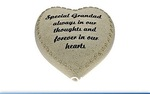 Leonardo LP22549 IN LOVING MEMORY MEMORIAL HEART GRANDAD    - Sepcial Grand Dad  Love Shaped