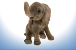 Leonardo  LP01690 Sitting Elephant