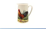 Leonardo LP91392 Cockerel and Hen Jug Medium  5.5 inches