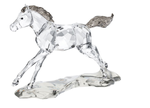 Swarovski 5004729 SCS 2014 Foal with Crystal Satin mane and tail