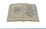 Leonardo LP22540  IN LOVING MEMORY MEMORIAL BIBLE FRIEND
