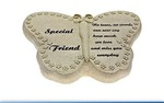 Leonardo LP22560 IN LOVING MEM BUTTERFLY FRIEND