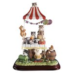 Comic & Curious Cats A21249 FELINE FETE 2010 Limited Edition Figurine