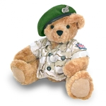 The Great British Teddy Bear - Army Bear GREEN Beret