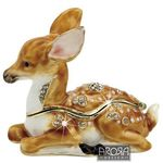Craycrombe Trinket Boxes - BABY DEER (FOAL) - Collectables