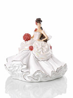 The English Ladies Gypsy Wedding Dreams (Brunette) Figurine