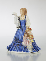 The English Ladies THE PUPPETEER Figurine