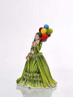 The English Ladies THE BALLOON SELLER Figurine