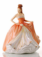 The English Ladies AMBER Figurine