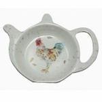 LP91964 COUNTRY COCKEREL TEABAG TIDY