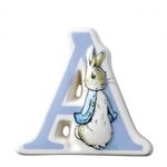 A27231 `A` Peter Rabbit Border Fine Arts Enesco