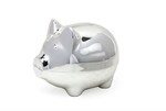 LP24928 Pig Money Box Silver Plated