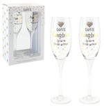 LP33625 Mad Dots Love/Laughter Flute set of 2