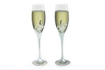 LP25935 Mr & Mrs Champagne Flutes