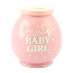 LP27851 Baby Girl Money Box