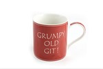 Leonardo LP33237 GRUMPY OLD GIT ! CHINA MUG