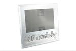 Leonardo LP23976 MIRROR 80TH BIRTHDAY FRAME 4 x 6 Inch