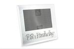 Leonardo LP23969 MIRROR 18TH BIRTHDAY FRAME 4 x 6 Inch