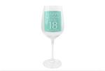 Leonardo LP33263 HAPPY BIRTHDAY You're 18 Wine Glass