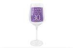 Leonardo LP33265 HAPPY BIRTHDAY You're 30 Wine Glass