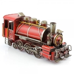 Leonardo Vintage Vehicles LP24953 Red Train