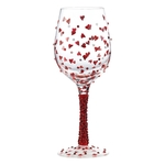 Lolita GLS11-5570R Red Hot Wine Glass
